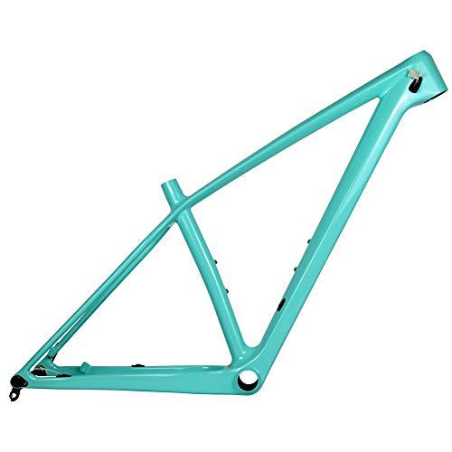 TQ Carbon MTB Rahmen 142X12mm Thru Axle Mountainbike-Rahmen T1000 Carbon-Top MTB Fahrradrahmen Max Reifen 2,25