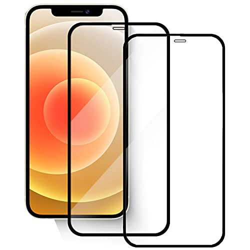 Schutzglas [2 Stück] Kompatibel Für iPhone 12/12 Pro (6.1 Zoll) Schutzfolie 9H Hartglas...