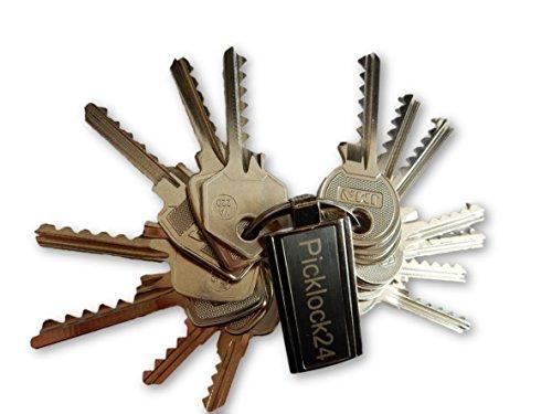 Picklock24 Schlagschlüssel-Set Deutschland Nr.2 (14 Schlüssel)