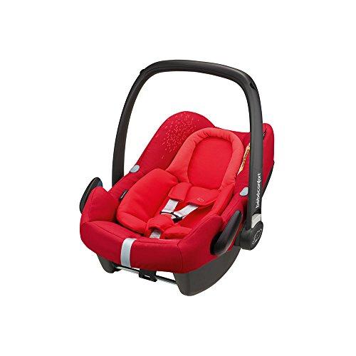 Bébé Confort Cosi Rock i-Size, Siège Auto Bébé Groupe 0+, ISOFIX, Dos à la route, Naissance à 12 mois (0-13 kg), Vivid Red (rouge)