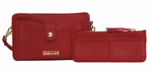Price comparison product image Kenneth Cole Reaction KN1868 Alpine Mini Cross Body Bag (RED)