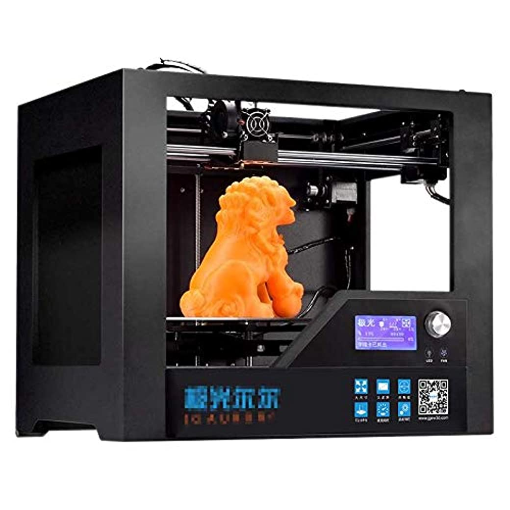 バラ色申請中比べる3Dプリンタ高精度準工業グレード3Dプリンタ、医療モデル、おもちゃ作り、漫画の文字、エントリーレベル(印刷サイズ280*180*180ミリメートル)