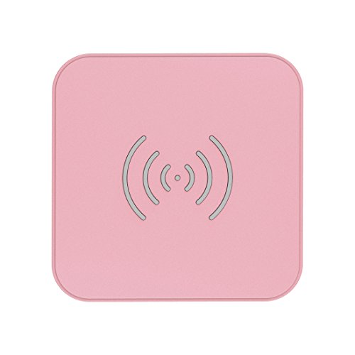 CHOETECH Cargador Inalámbrico, Wireless Charger 7.5W para iPhone 12/12Pro/11/11Pro/X/XS/XR/8,10W para Samsung S20/S10/S10e/S9/S8, 5W Huawei P40 Pro/P30 Pro, Xiaomi, Airpods 2 y Teléfonos Qi-Enabled