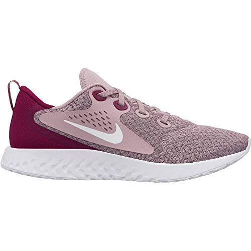 Nike Damen WMNS Legend React Leichtathletikschuhe, Mehrfarbig (Plum Chalk/White/True Berry 500), 38.5 EU