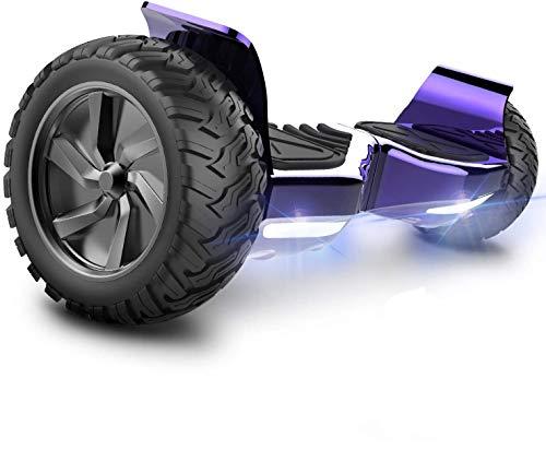 GeekMe Hoverboard Scooter Elettrico Fuoristrada Scooter Auto bilanciamento...