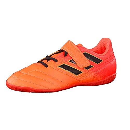 adidas Unisex Kinder Ace 17.4 In J H&L Futsalschuhe, (NarsolNegbasRojsol), 28 EU