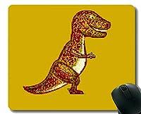マウスパッド滑り止め、巨大恐竜Tレックス滑り止めラバーベースマウスパッド