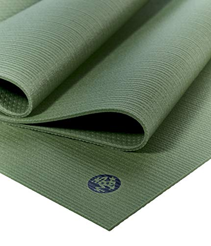 Manduka Prolite Yoga and Pilates Mat 4.7mm Thick, Non-Slip, Non-Toxic, Eco-Friendly, Long. Made with...