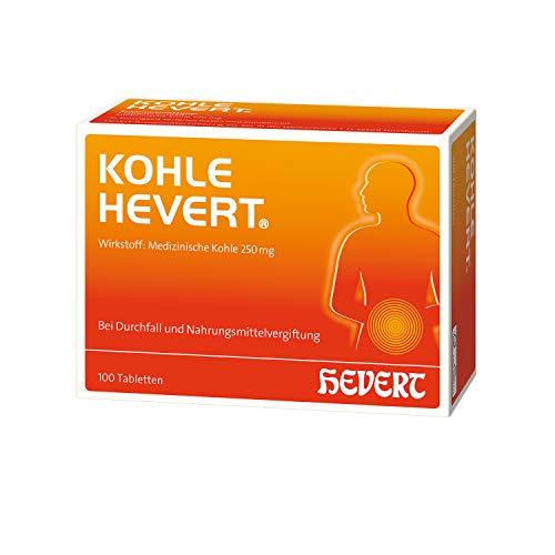 Kohle Hevert Tabletten, 100 St. Tabletten