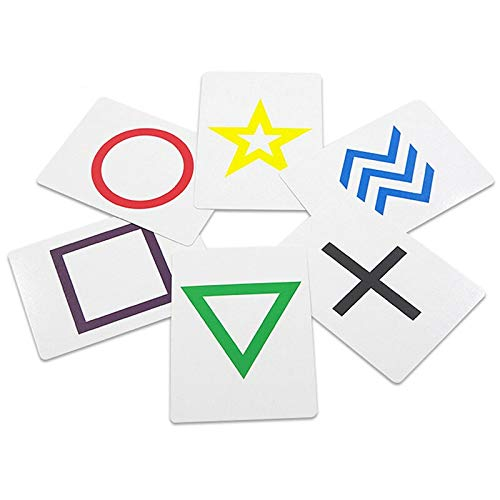 NO LOGO 1set Rotating ESP Prediction Card Magic Tricks Close Up Bühnenrequisiten Illusion Accessary Magie Zauberer Fancy Komödie Mentalism Spielzeug (Farbe