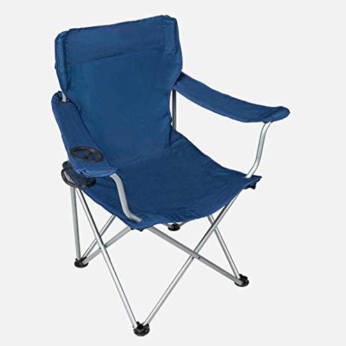 N/Z Living Equipment Klappbarer Campingstuhl Tragbare Tragetasche für Aufbewahrung und Reisen Beste langlebige Outdoor-Quad-Strandstühle Komfortabler Armraum