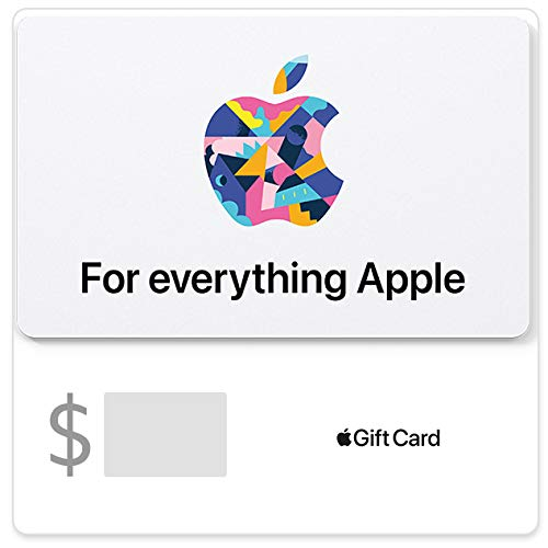 Apple Gift Card - App Store, iTunes, iPhone, iPad, Airpods, Macbook, accessories and more (Email...