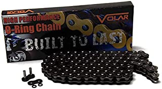 Volar O-Ring Motorcycle Chain - Black for 525 x 104 Links
