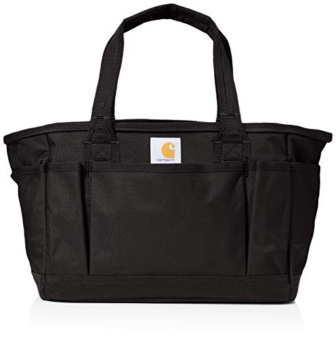 Carhartt Unisex-Adult Signature Utility Tote Tool Bag, Black, OFA