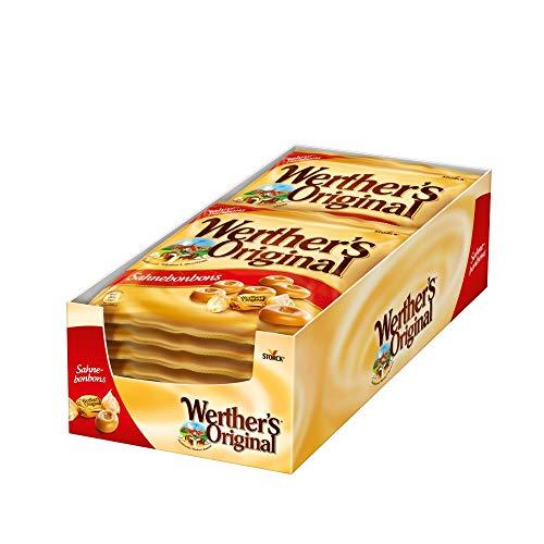Werther's Original Sahnebonbons (5 x 120g) / Karamell Bonbons mit extra Sahne