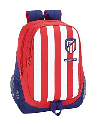 Atletico de Madrid Equipaje, Niños Unisex, Rojo, Blanco Y Azul, Talla Única