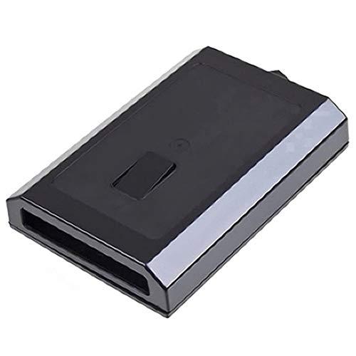 Cikuso Cáscara Caja De Reemplazo De Caja De Disco Duro para Xbox 360 Slim Microsoft Hdd (Sólo Caso!)