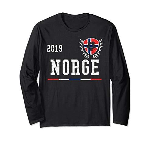 Norwegen Fußballtrikot 2019 norwegisch Fußballtrikot Langarmshirt