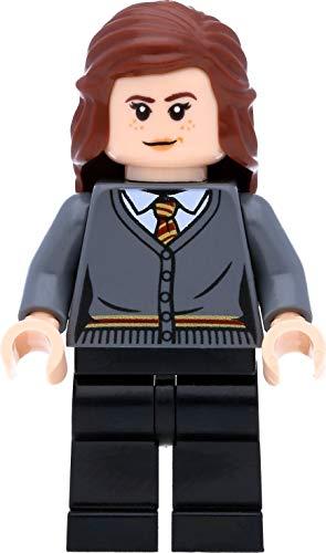LEGO Harry Potter - Minifigura de Hermione Granger en el cárdigan Gryffindor con varitas mágicas
