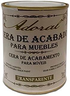 Adoral - Cera Chalk Paint de acabado para muebles 375 ml