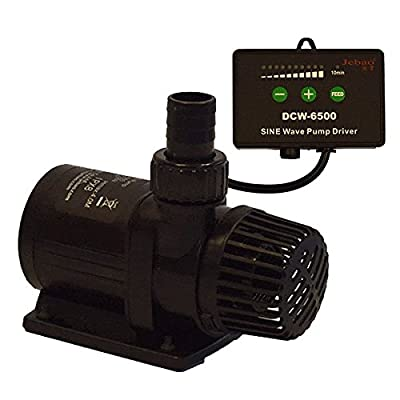 Jebao / Jecod DCW Submersible Aquarium Fish Tank Sump Pump Sine Wave Technology (6000 L/H) from Jebao