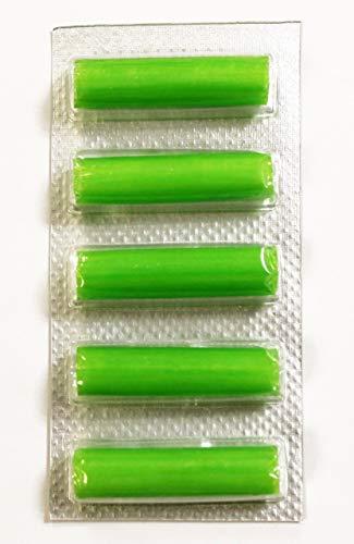 """2M Camberley amarillo verde de organza con cable de alambre filo cinta 1.5/"""" Ancho impresionante"""