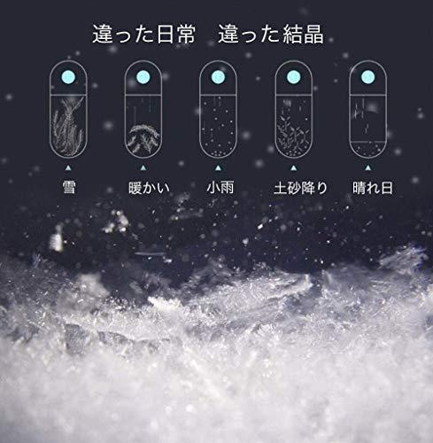 ネックレスレディースネックレスレディースペンダント貝殻人魚ベネチアンチェーンペンダントストームグラス首飾りプレゼントギフトXIFOTE(Blue)
