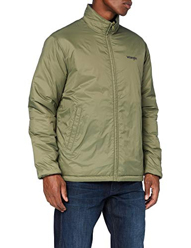 Wrangler Men's THE REVERSIBLE Jeans, Deep Lichen Green, S