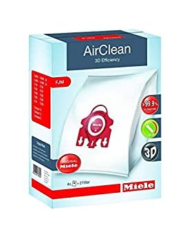 Miele Genuine Vacuum Cleaner AirClean Dust Bags Type FJM Pack of 8