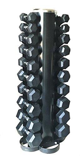 Cuerpo revolución vertical pesos, pesas hexagonales de árbol de...