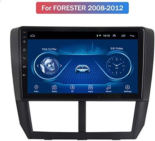 GLFDYC Android 8.1 GPS Navigation Radio TV, 9 Zoll Full Touch Screen Bildschirm Autoradio, für Subaru Forester 2008-2012, mit DAB Lenkradkontrolle Bluetooth Stereo Mirror Link,WiFi+4G:2+32G