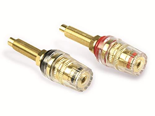 Dynavox High-End Anschlussterminals z. Einbau in Lautsprecherboxen u. Verstärker