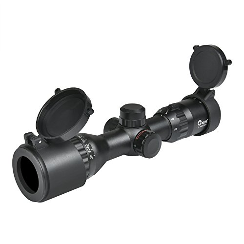 CVLIFE Hunting Rifle Scope 3-9x32 AOL Red and Green...