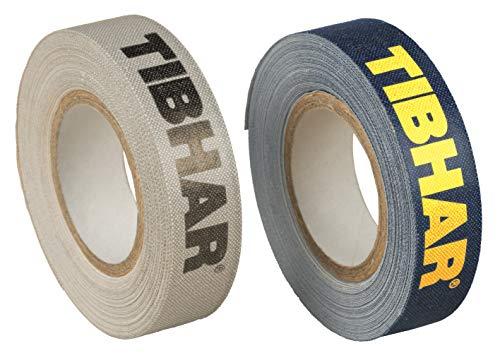 Tibhar Tischtennis Kantenband Classic | 12mm breit | 5m lang | grau | Marine (grau)