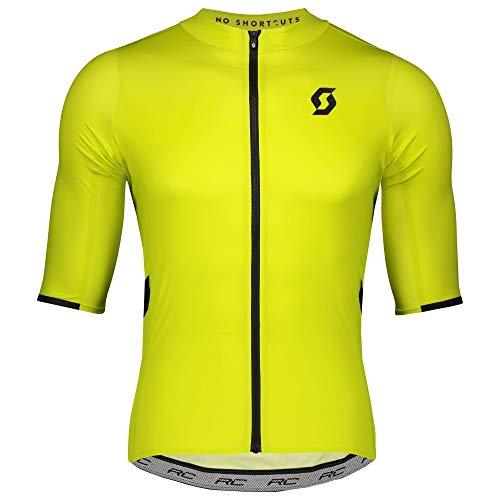 Scott RC Premium Fahrrad Trikot kurz gelb 2020: Größe: M (46/48)