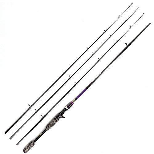 JOHNCOO 7' Carbon Baitcasting Fishing Rod M MH ML Power Bass Fishing Rod