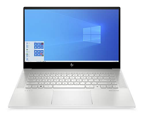 "HP-PC ENVY 15-ep0020nl Notebook, Intel Core i7-10750H, RAM 32 GB, 2 SSD 1 TB, NVIDIA GeForce RTX2060 Max-Q 6 GB, Windows 10 Home, Schermo 15,6"" multitouch 4K UHD, Lettore impronte digitali, Argento"