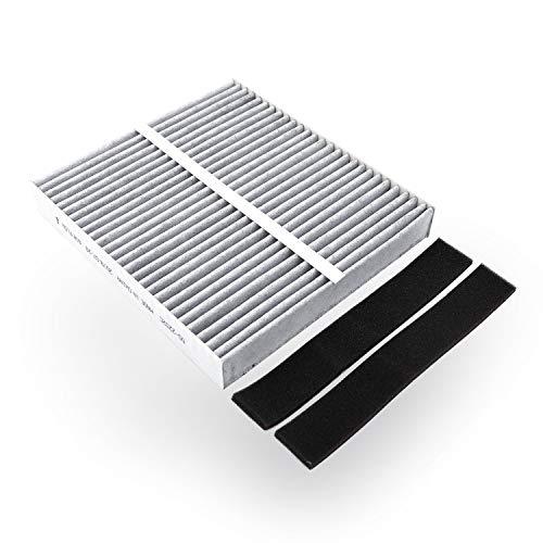 Amazon Basics - Filtro de aire para vehículos, 21,6 x 20 x 3 cm