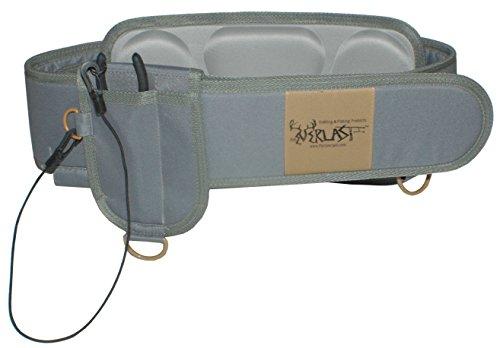 Foreverlast Inc. G3 Wading Belt Gear Kit, Universal Fishing Belt for Men & Women, Wade Belt for Fishing Includes Pliers, Grey