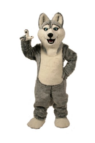 ALINCO Husky Mascot Costume