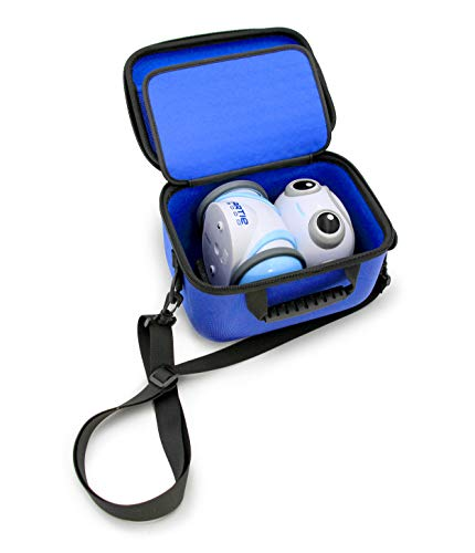 KidCase Blue Coding Toy Case Compatible with Education Insights Artie 3000 The Coding Robot and Stem Accessories, Includes Dragon Case and Shoulder Strap Only