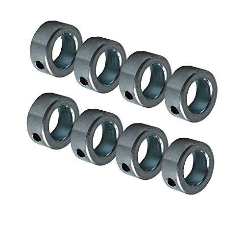 8 Stück Stellringe für 20 mm Welle Sackkarren Sackkarrenrad Bollerwagen