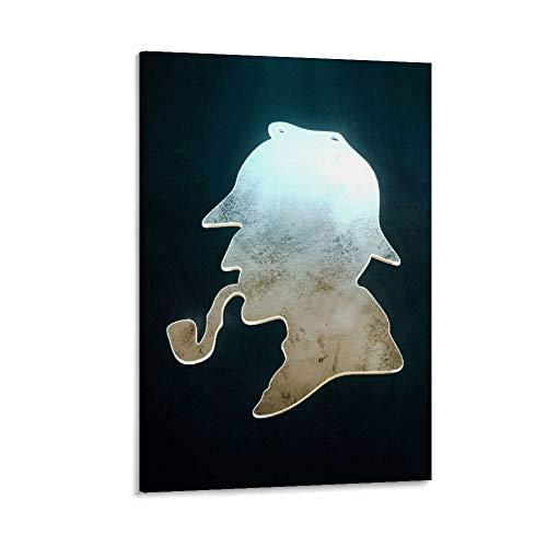 chuxing Póster de Sherlock Holmes para decoración de dormitorio, pared, salón, dormitorio, cocina, 50 x 75 cm