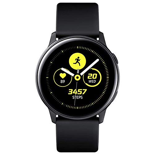 Samsung Galaxy Watch Active SM-R500 Smartwatch 40mm Alluminio per Android e iOS [Versione internazionale] (Nero)