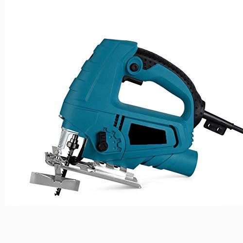 LQJXKJY Hefmes met drie snelheden decoupeerzaag elektrische 710 W machine snelheid 0-3000 omw/min houtsnijbereik 65 mm metaalsnijbereik 10 mm snelspanhouder
