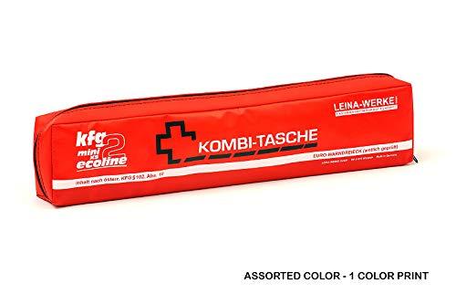 LEINAWERKE 32067 Mini-Kombitasche XS KFG2 Ecoline farblich sortiert - 1-farbig, ohne Klett, 5 Stk.