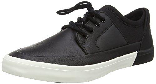 Aldo Herren Haidia Sneakers, Black (Black Leather/97), 44 EU
