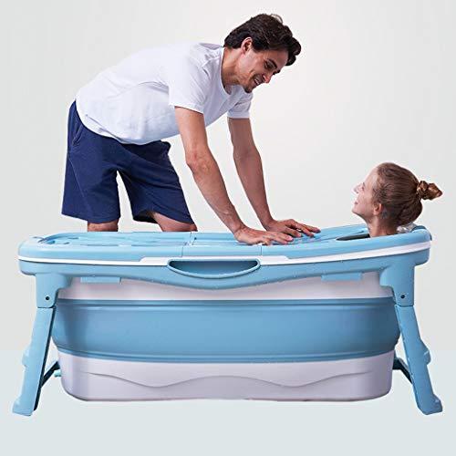 Badewanne, Haushalts-Falten Badewanne, Sit-in voller Größe Badewanne, Erwachsene Badewanne, Badewanne, ein Meter drei Klapp-Badewanne (Color : A)