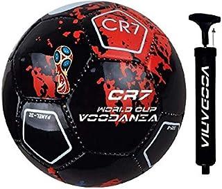 VOODANIA AVATOZ BRAZUCA PU Football, Size 5, (Multicolour)