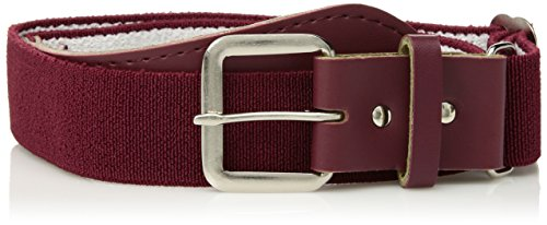 Augusta Sportswear unisex child Elastic baseball belt, Maroon, One Size US